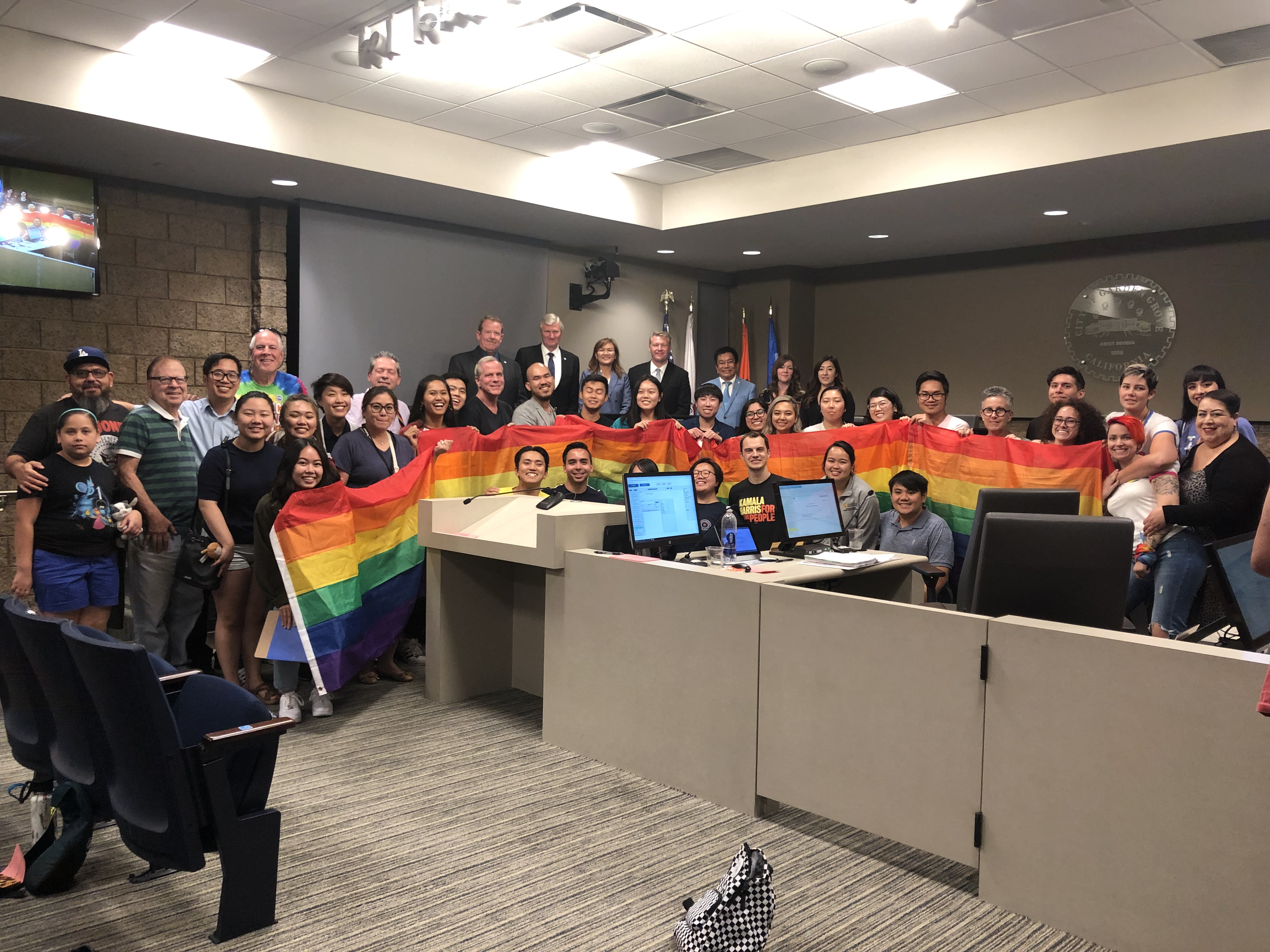 Garden Grove Community Scores Big Win by Securing the City to Light Up the Historic Clock Tower in Rainbow for LGBTQ+ Pride Month